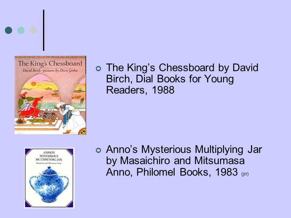The King's Chessboard by David Birch, Dial Books for Young Readers, 1988