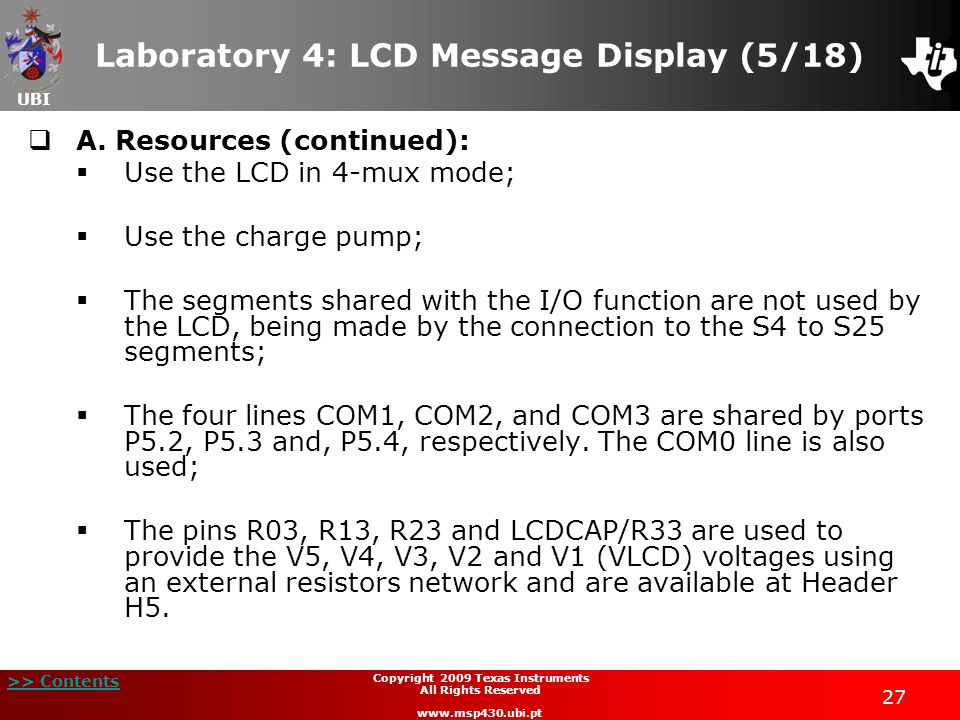 Laboratory 4: LCD Message Display (5/18)