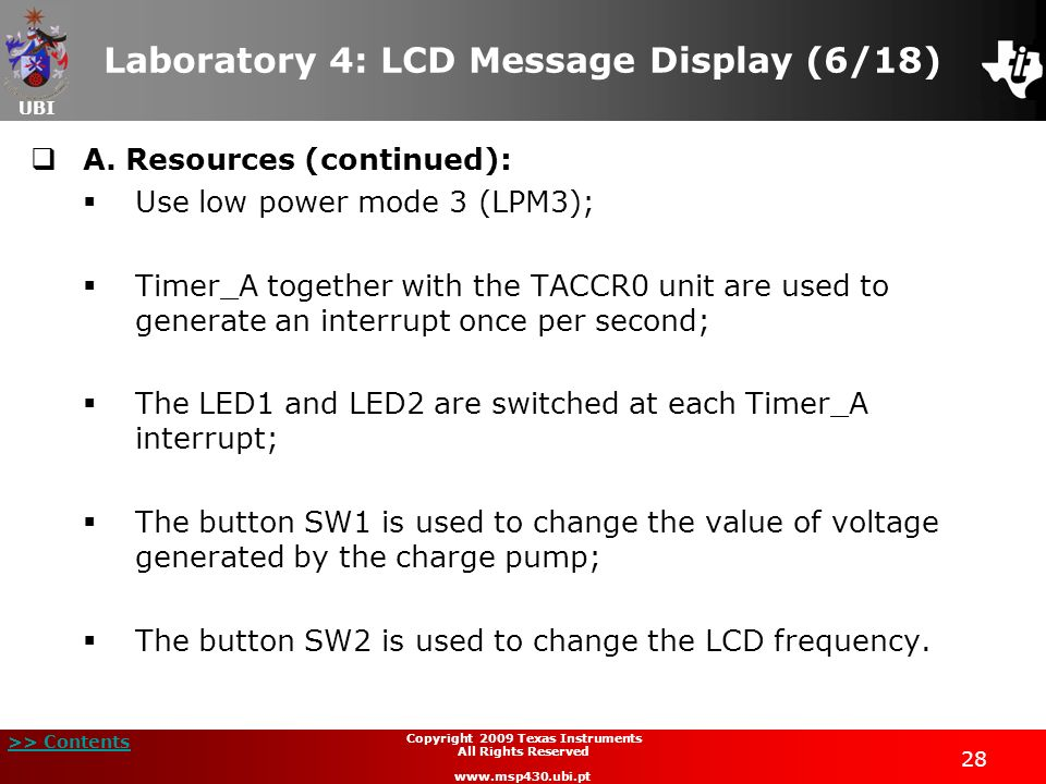 Laboratory 4: LCD Message Display (6/18)