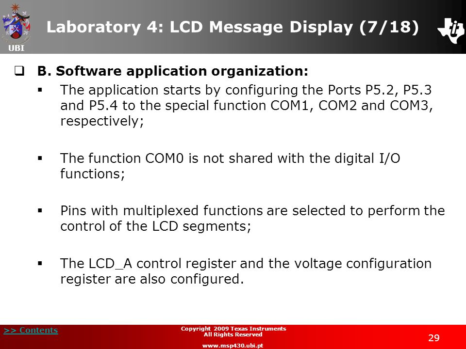Laboratory 4: LCD Message Display (7/18)