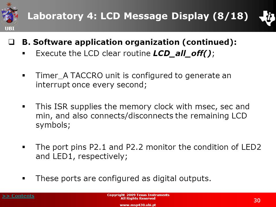 Laboratory 4: LCD Message Display (8/18)
