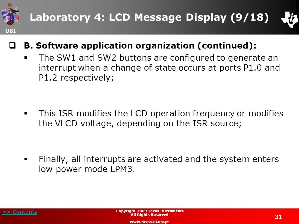 Laboratory 4: LCD Message Display (9/18)