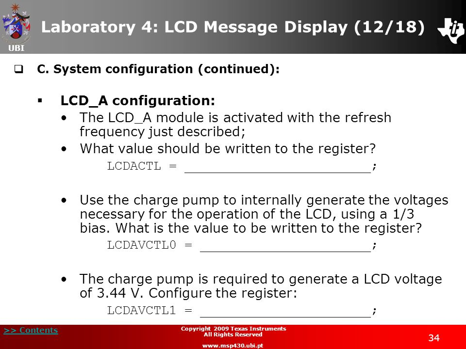 Laboratory 4: LCD Message Display (12/18)