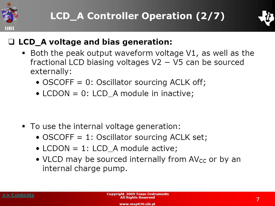 LCD_A Controller Operation (2/7)
