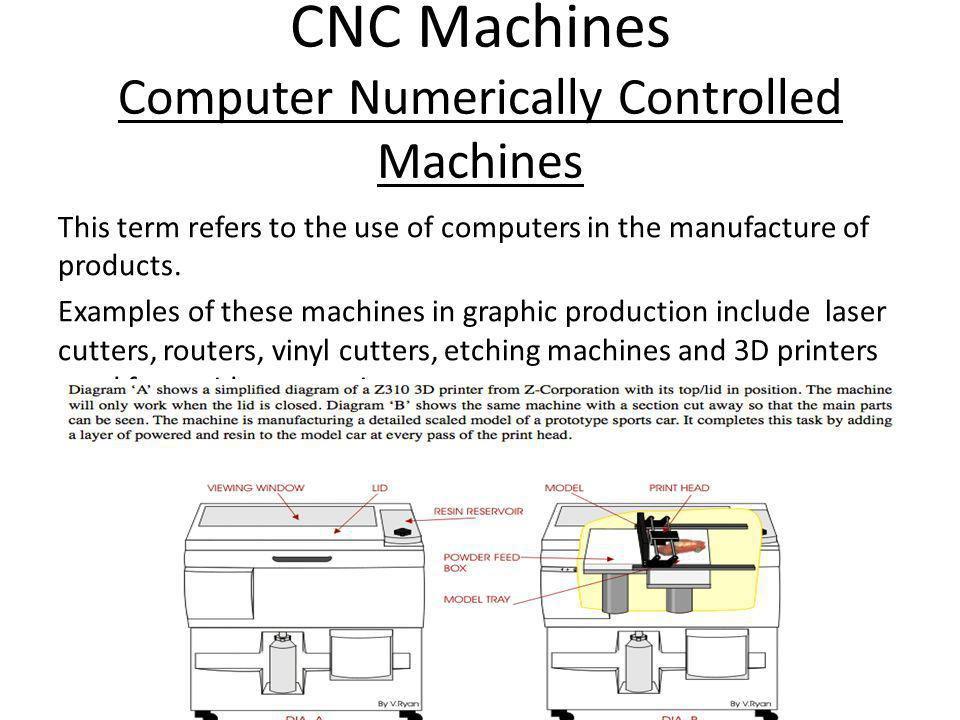 CNC Machines Computer Numerically Controlled Machines