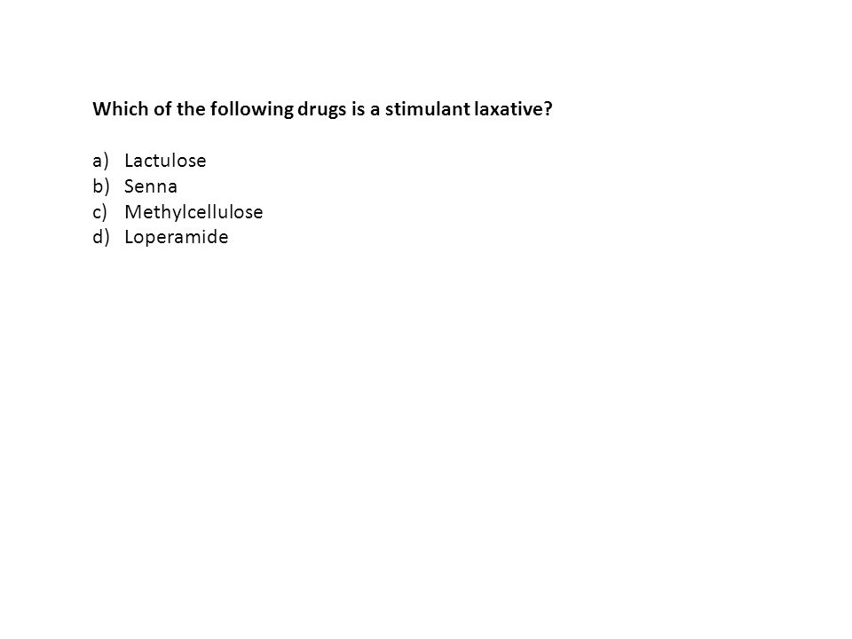 Which of the following drugs is a stimulant laxative