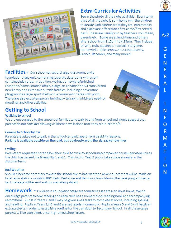 WILLOWS PRIMARY SCHOOL PROSPECTUS 2013 14