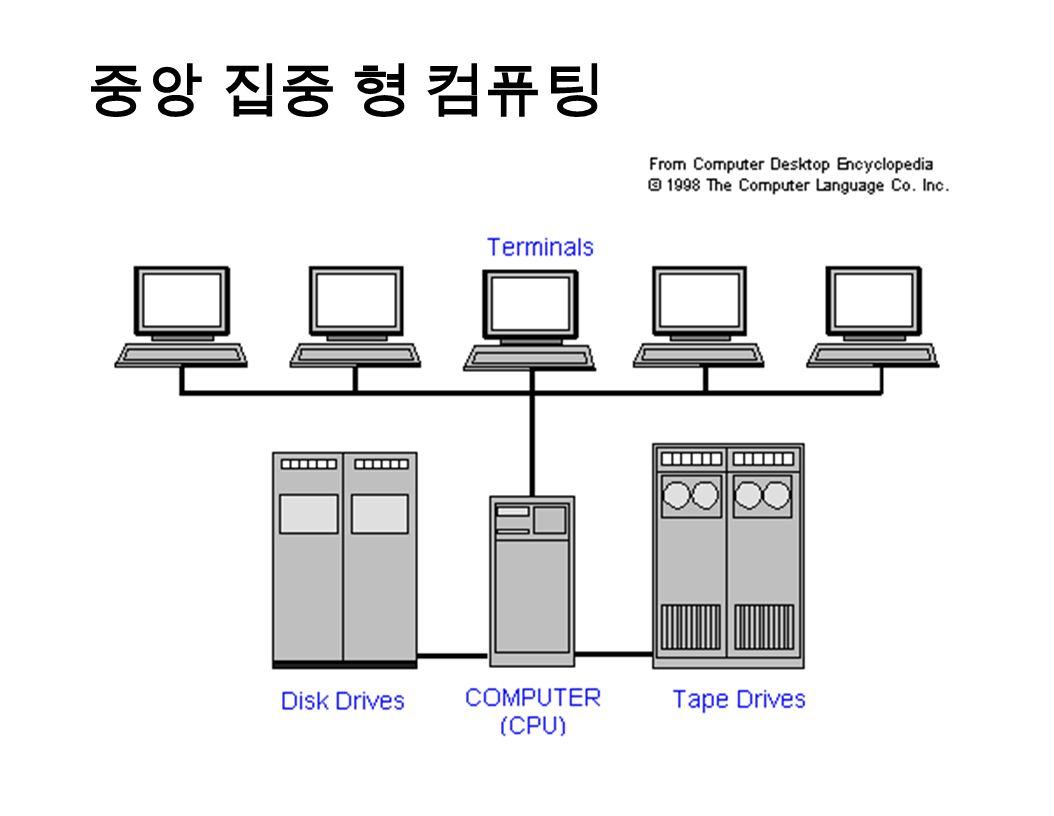 중앙 집중 형 컴퓨팅