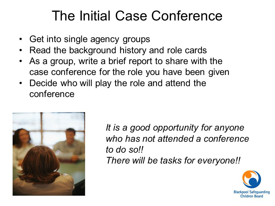 The Initial Case Conference