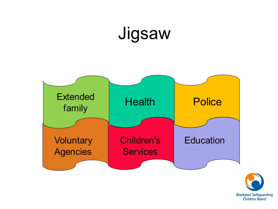 Jigsaw Health Police Extended family Voluntary Agencies Children's