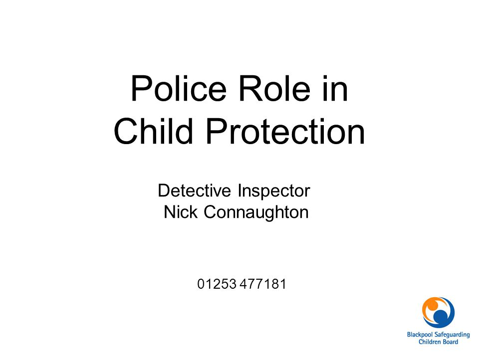 Police Role in Child Protection