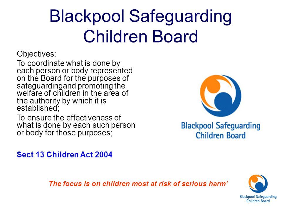 Blackpool Safeguarding Children Board