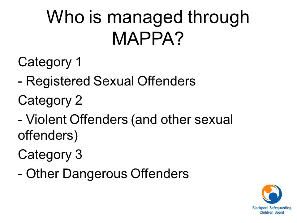 Who is managed through MAPPA