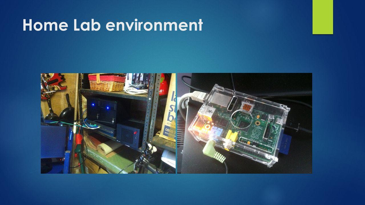 Home Lab environment
