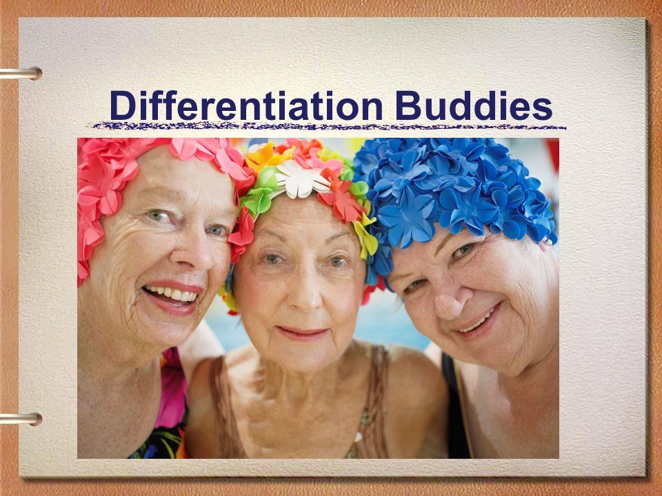 Differentiation Buddies