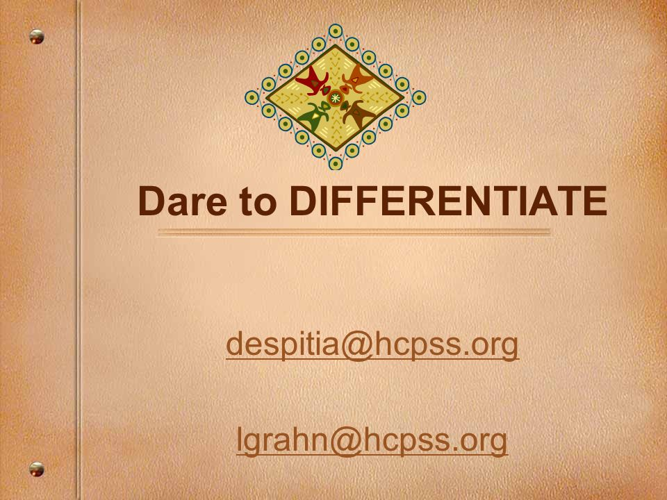 despitia@hcpss.org lgrahn@hcpss.org