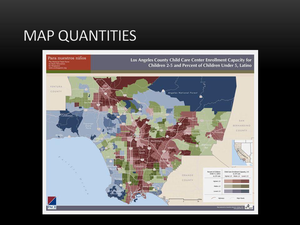 Map Quantities