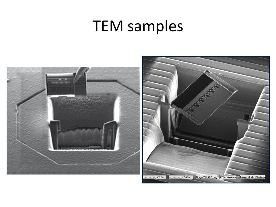 TEM samples