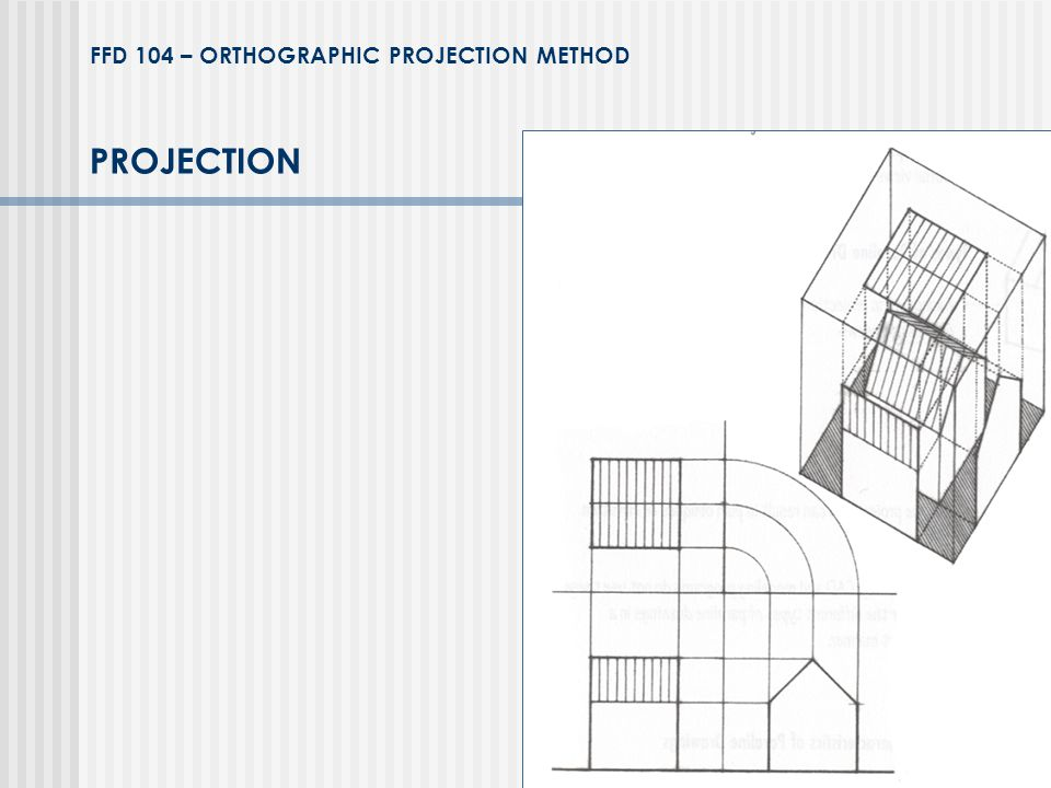 FFD 104 – ORTHOGRAPHIC PROJECTION METHOD