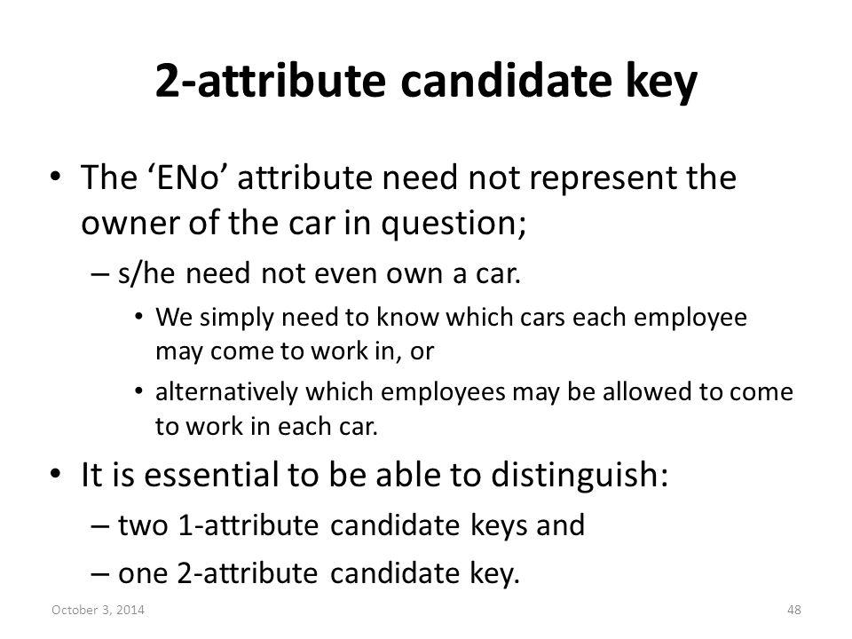 2-attribute candidate key