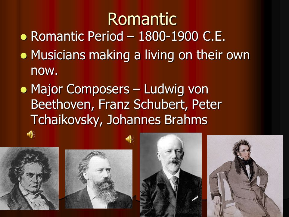 an introduction to the history of the period of romanticism