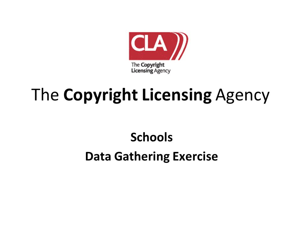 The Copyright Licensing Agency
