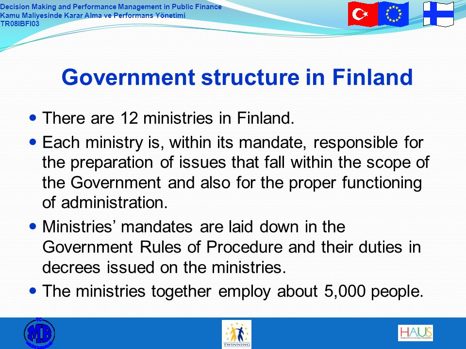 Government structure in Finland