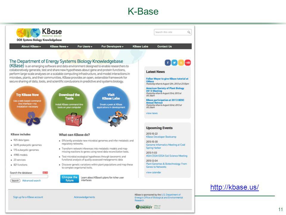 K-Base http://kbase.us/