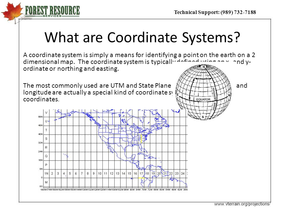What are Coordinate Systems