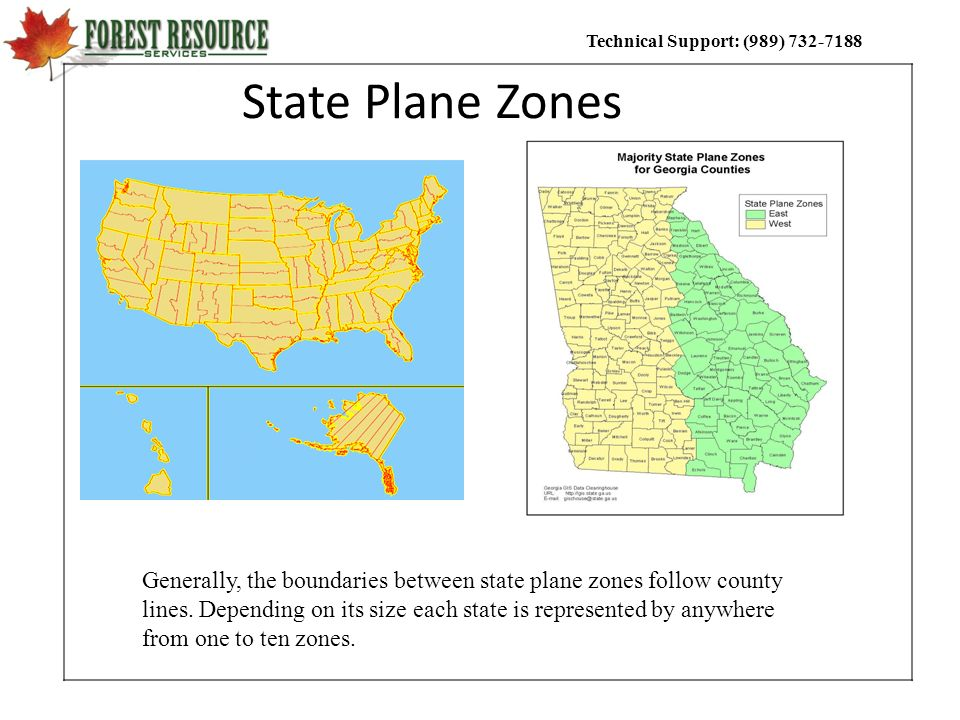 State Plane Zones