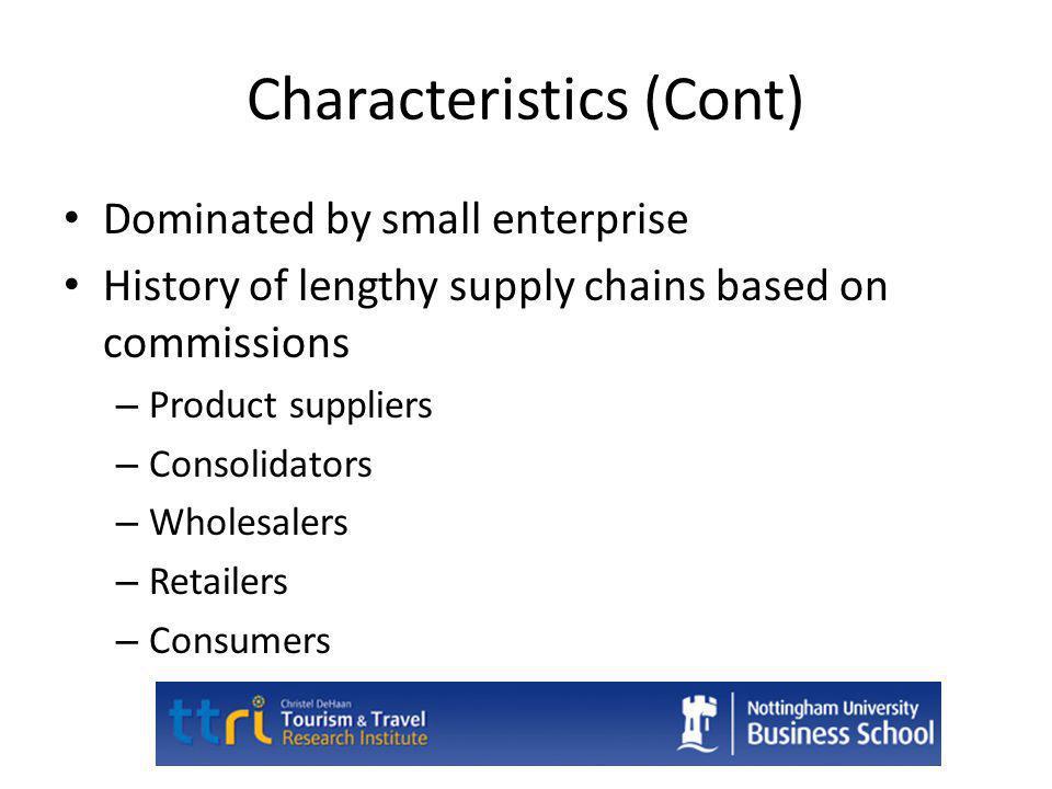 Characteristics (Cont)