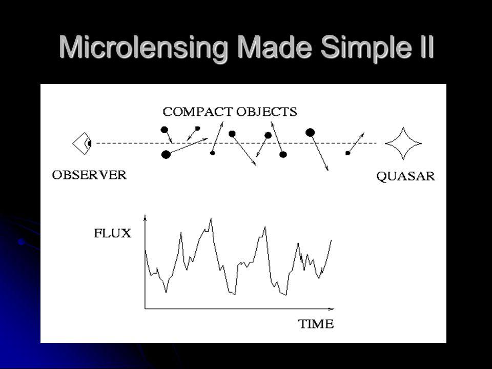 Microlensing Made Simple II