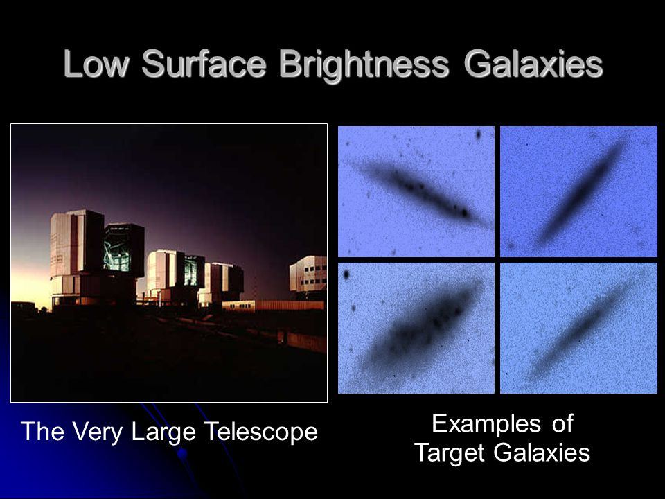 Low Surface Brightness Galaxies