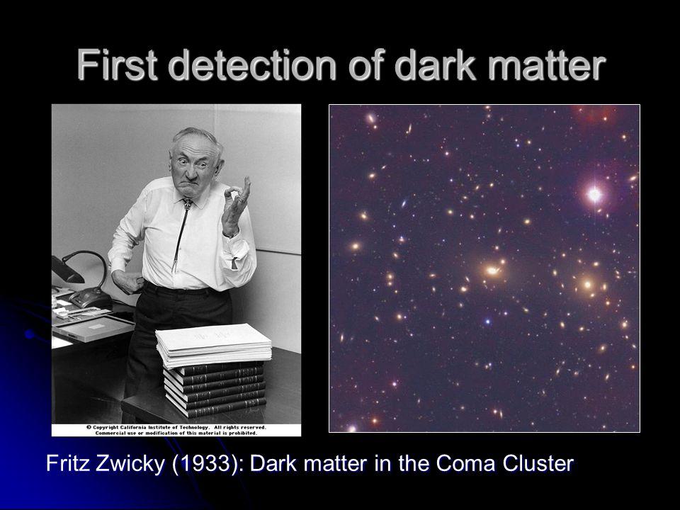 First detection of dark matter