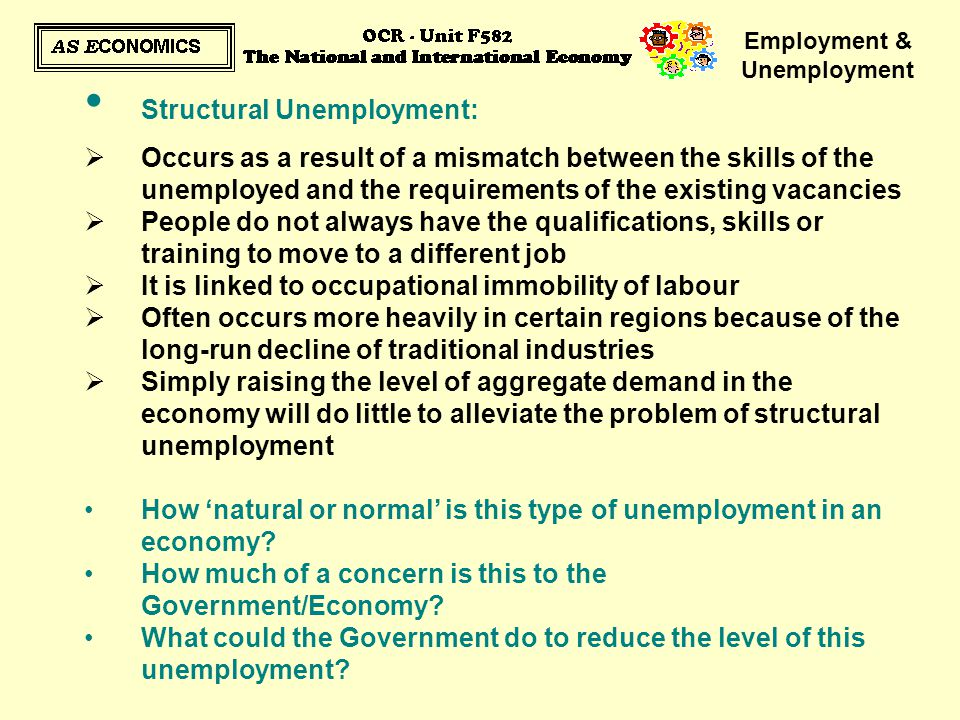the issue and types of unemployment in australia Learn the different types of unemployment (frictional, cyclical, and seasonal) and  how economists use them to gauge the job market in an.