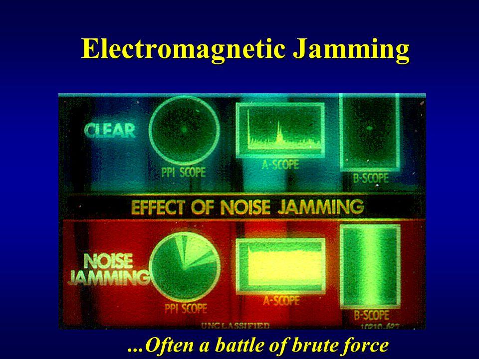 Electromagnetic Jamming
