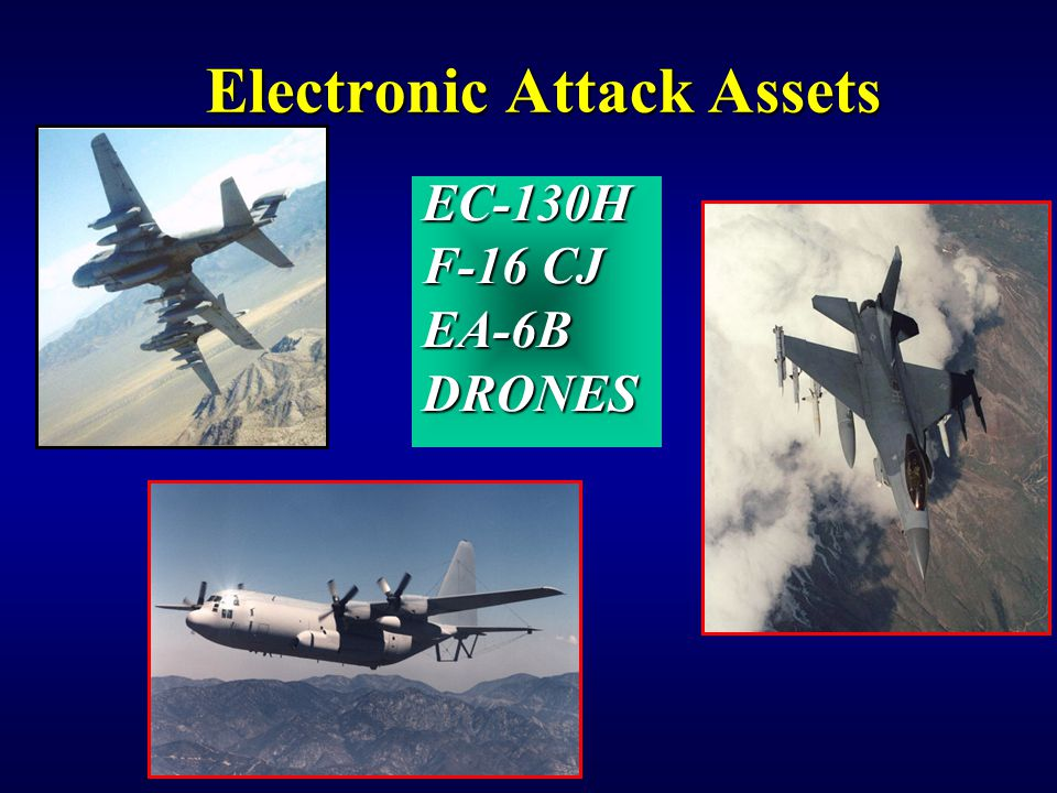 Electronic Attack Assets
