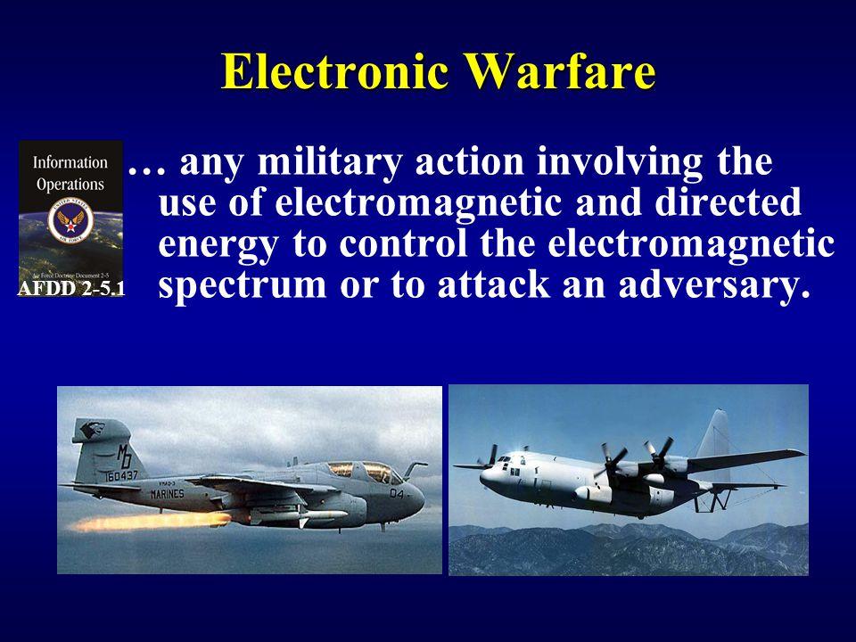 IW 150 EW Notetaker Electronic Warfare. AFDD 2-5.1.