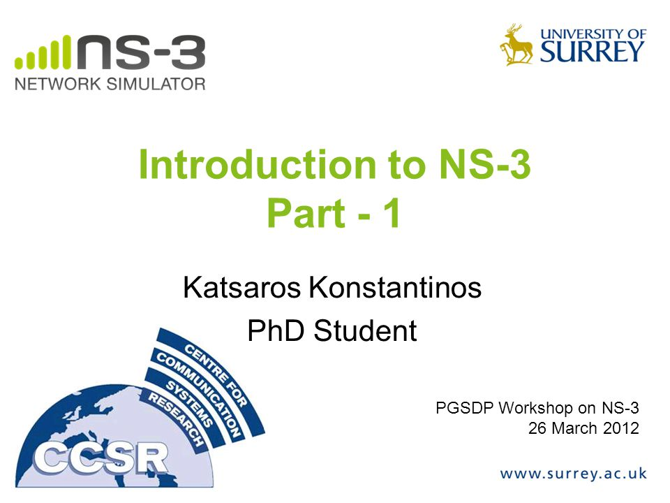 Introduction to NS-3 Part - 1