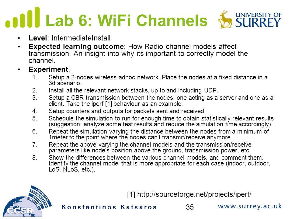 Lab 6: WiFi Channels Level: IntermediateInstall
