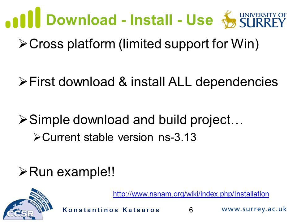 Download - Install - Use