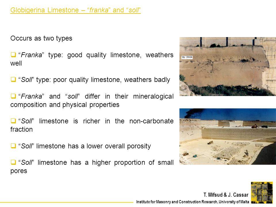 Globigerina Limestone – franka and soll