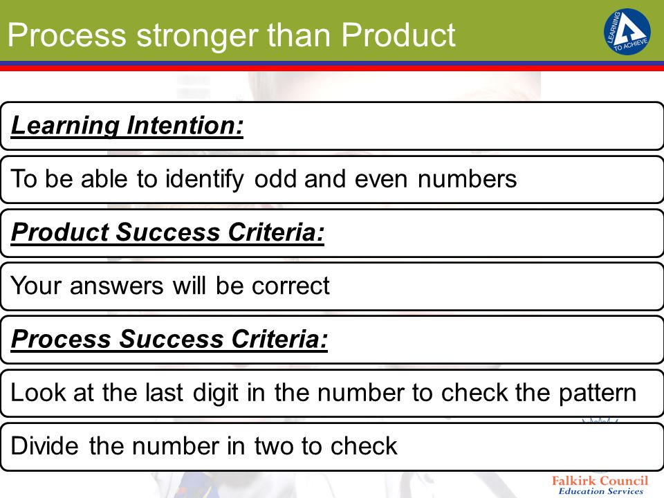 Process stronger than Product