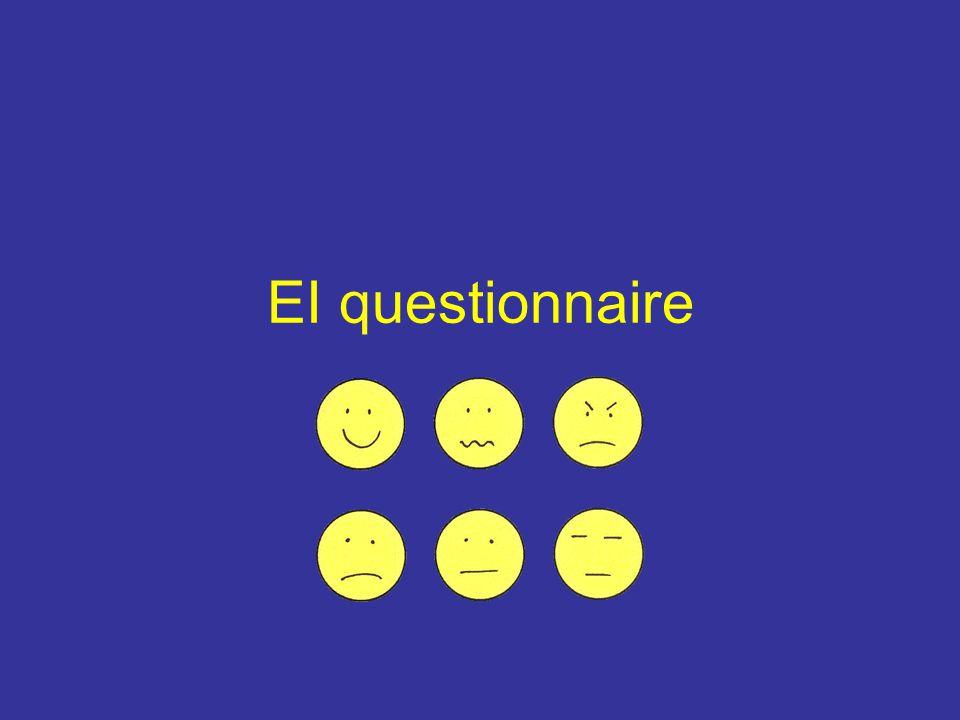 EI questionnaire