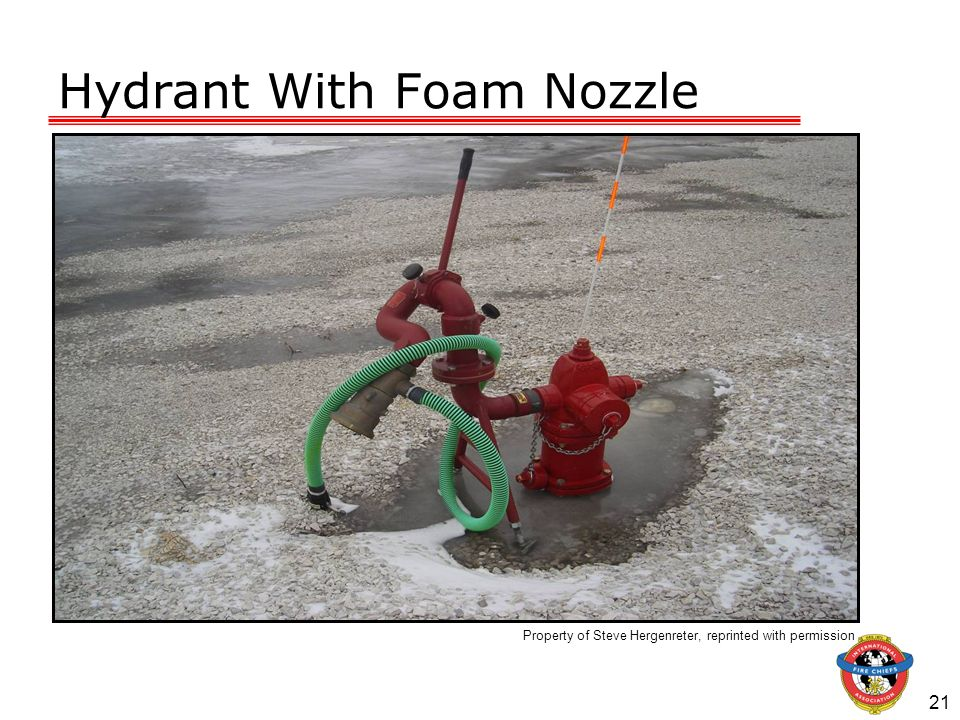 Hydrant With Foam Nozzle