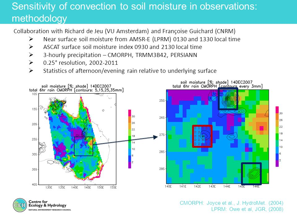 Sensitivity of convection to soil moisture in observations: