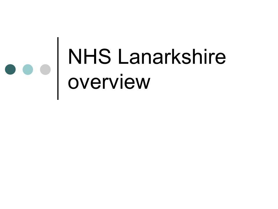 NHS Lanarkshire overview
