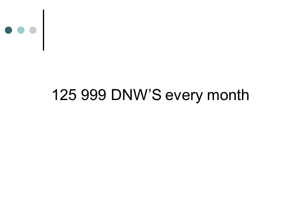 DNW'S every month