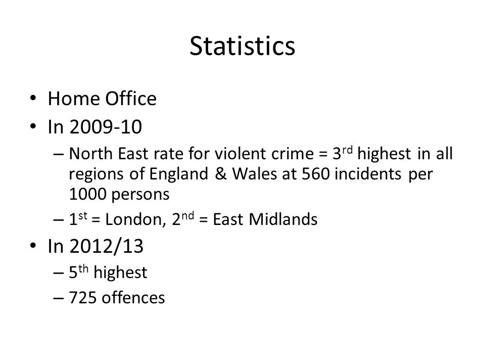 Statistics Home Office In In 2012/13