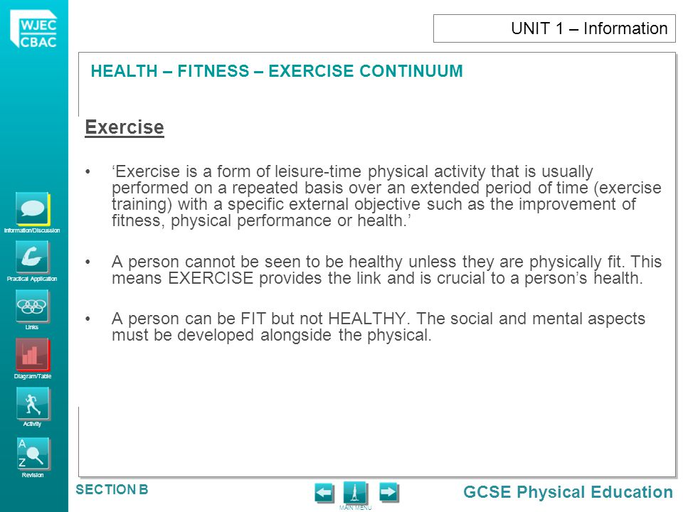 Exercise UNIT 1 – Information